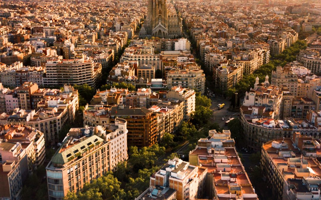 Barcelona, the city of the sun !